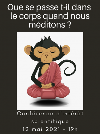 Conférence: Que se passe t-il dans le corps quand nous méditons ?